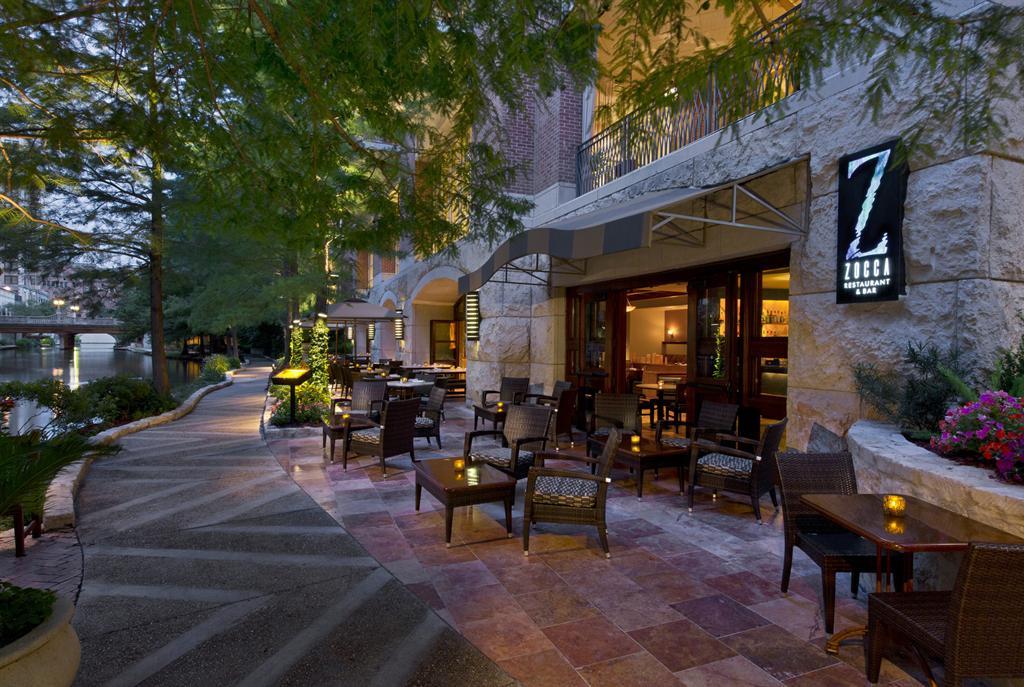 The Westin Riverwalk San Antonio Zocca Restaurant Patio