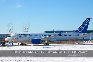 Bombardier CSeries First CS300 - FTV7 | by Sylvain Faust