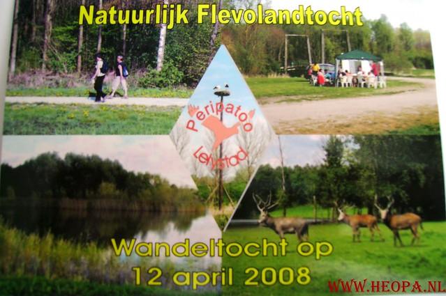 Natuurlijk Flevoland  12-04-2008  40Km (80)