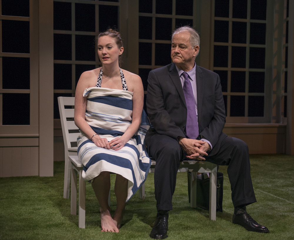 Amanda Drinkall (Molly) and Francis Guinan (Ray)