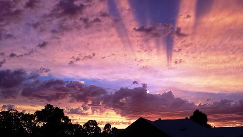 sunset summer sky adelaide norwood eveningsky adelaidesunset