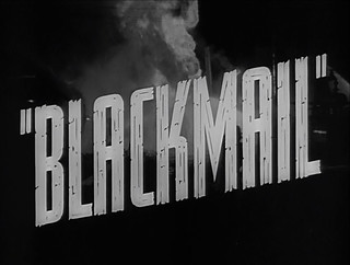 Blackmail (1929) | by twm1340