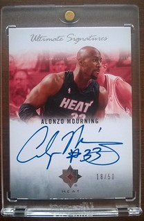 2007-08 Ultimate Collection Signatures #AM Alonzo Mourning /50 | by milkowski.pawel