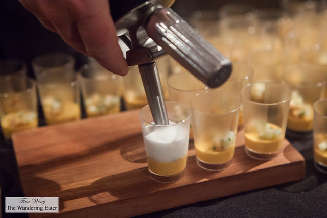 Sea Urchin Panna Cotta by The Nomad
