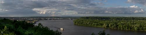 panorama wisconsin illinois pano iowa mississippiriver riverboat dubuque tristates