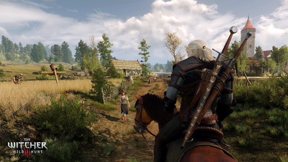 Screen capture image from the games The Witcher 3: Wild Hunt