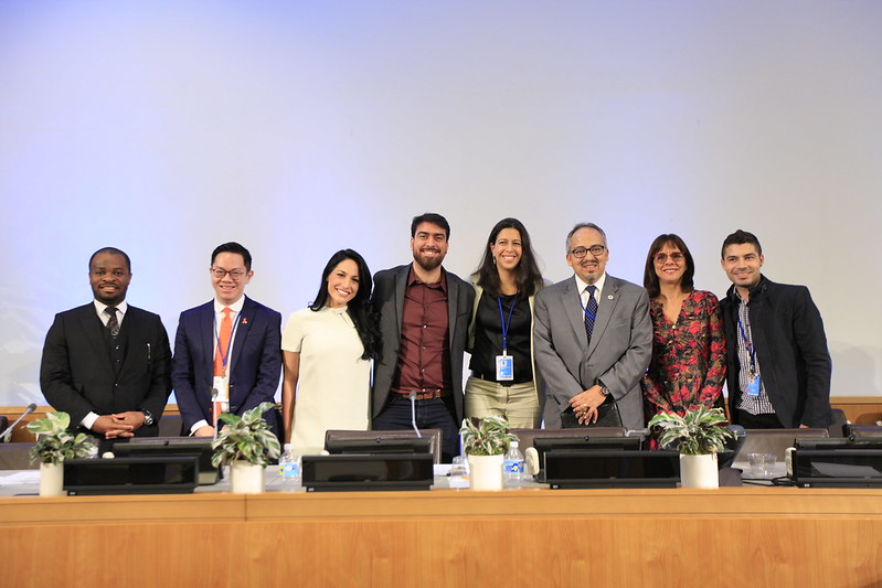 Evento paralelo do UNAIDS Brasil durante a Reunião de Alto Nível da ONU sobre o Fim da AIDS.