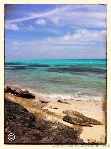 ocean blue sky water landscape bay coast turquoise shore bermuda hog hogbaypark uploaded:by=flickrmobile flickriosapp:filter=nofilter