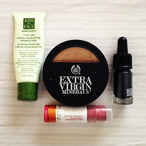My makeup regime #vegan   by voyagevixen2