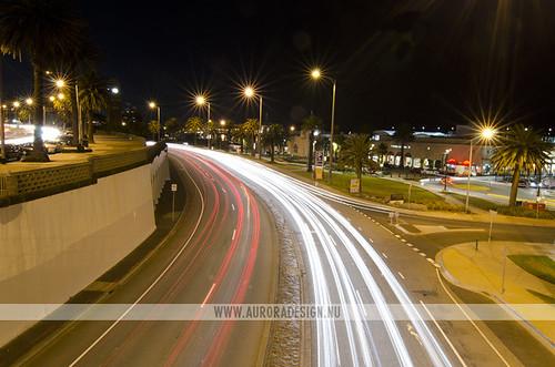 St Kilda light trails
