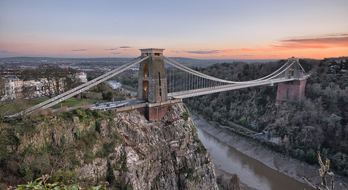 bridge sunset bristol suspension gorge lowtide clifton brunel sionhill snshdr
