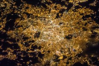 Paris at Night (NASA, International Space Station, 04/07/13)   by NASA's Marshall Space Flight Center