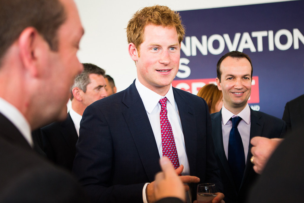 Prince Harry helps promote Britain at New York event   Flickr