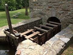 Gristmill Intake Gate, Mount Vernon Estate