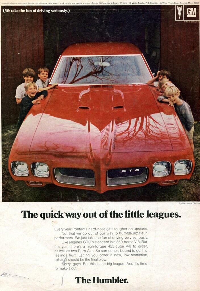 1970 Pontiac GTO Advertising Hot Rod Magazine November 196… | Flickr