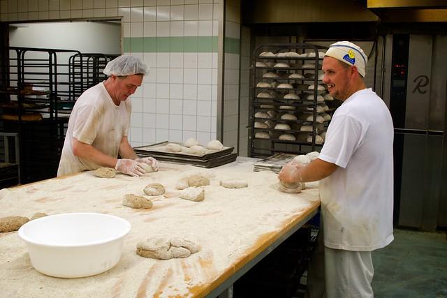 Shaping Bread