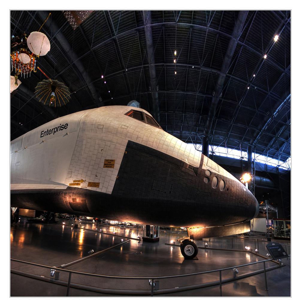 Chantilly VA - Steven F. Udvar-Hazy Center - Space Shuttle Enterprise OV-101 19