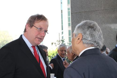 Fred Kempe and Amb. Kanwal Sibal, former Foreign Secretary of India