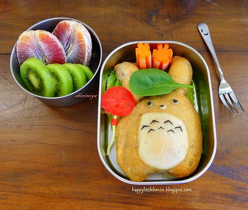 Totoro Calzone Bento | by sherimiya ♥