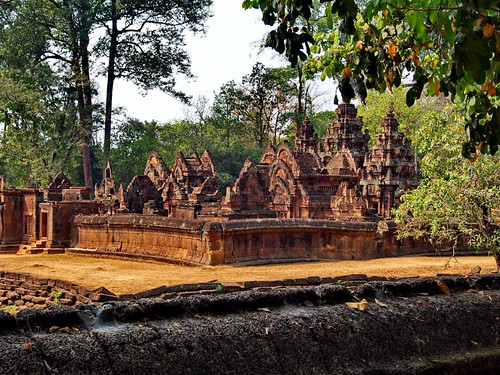 Beautiful and  small Banteay Srei | by Angelika Spanke