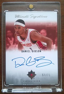 2007-08 Ultimate Collection Signatures #DG Daniel Gibson /75 | by milkowski.pawel