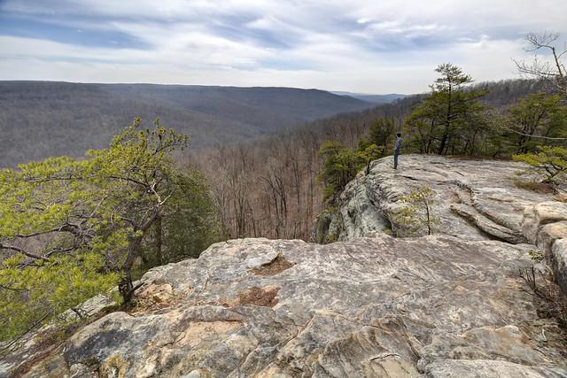 Bee Rock overlook, Putnam County, Tennessee 6