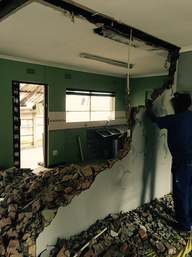 Kitchen renovation: opening it up | by olafmeister