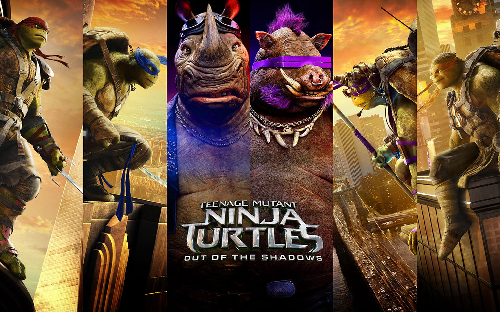 Teenage Mutant Ninja Turtles 2016 Movie Wallpaper Hd Tmnt Flickr