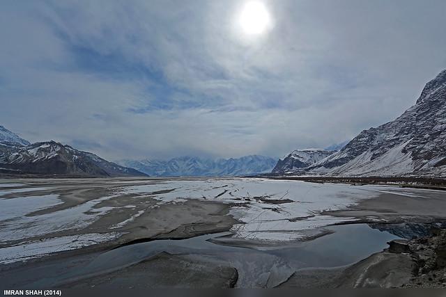 Skardu Valley in WInters