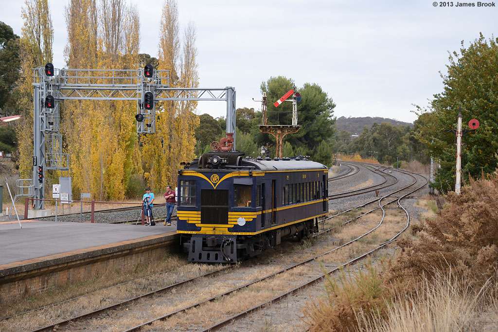 58RM at Castlemaine by James Brook