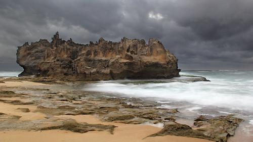africa sea seascape castle rain rock landscape paul pix day south western cape psk knysna brenton knipe pskpix
