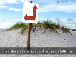 130515 The Positive Daily Affirmation Image for Mistakes | by bitesizeinspiration