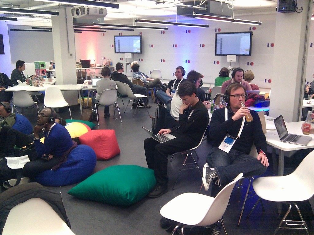 #google #io #london #campus #thirdfloor