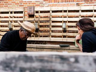 Healing Herb Garden Workday - Erasmus High School Visit II | by Sustainable Flatbush