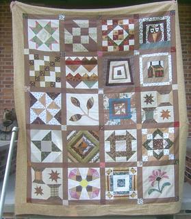 My Favorite Quilt Block QAL Finish