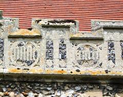 15th Century flushwork inscription