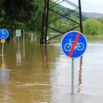Ústecká desítka - zaplavená trasa, foto: Petr Kostovič