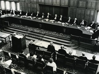 New Zealand Representatives at the International Court of Justice in the Hague