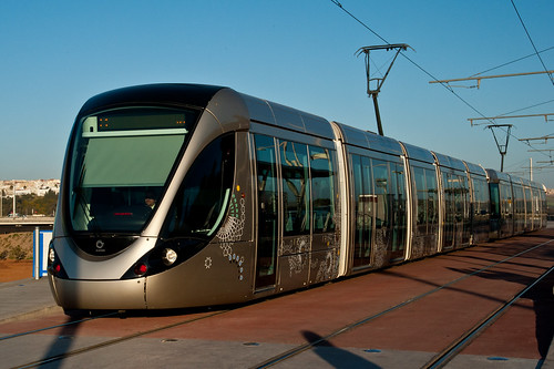 The tramway service between Rabat and Salé | by World Bank Photo Collection