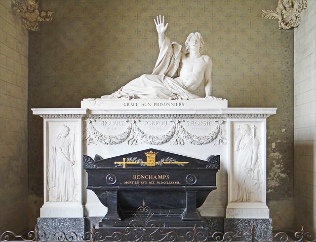 Le tombeau de Bonchamps (Abbatiale de Saint-Florent-le-Vieil)