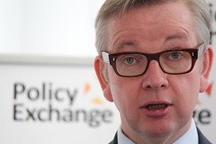 Michael Gove at Policy Exchange delivering his keynote spe… | Flickr