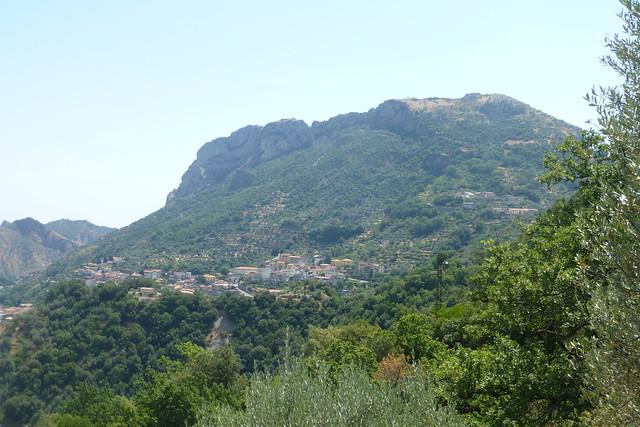 Monte Consolino da contrada Gargano (Bivongi)
