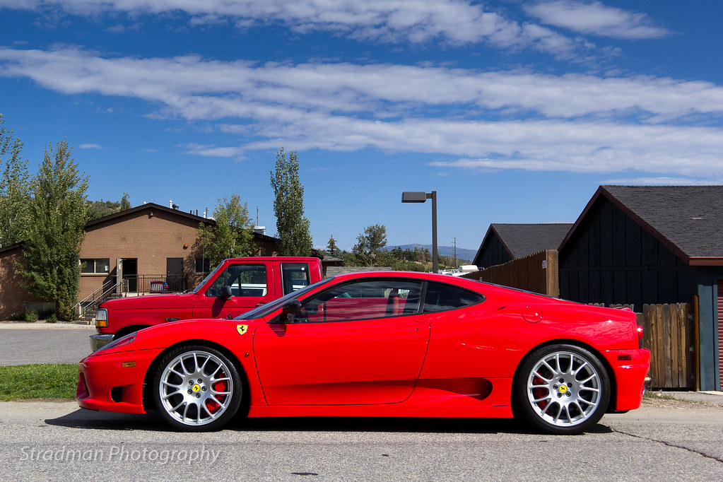 Ferrari Challenge Stradale In Park City Utah Www Facebook Flickr
