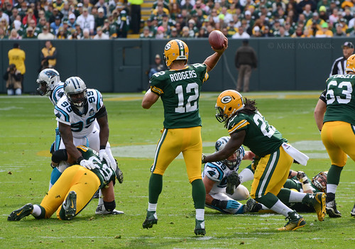 Aaron Rodgers | by Mike Morbeck
