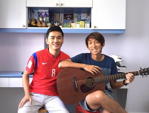 Guitar lessons Singapore Jeremy