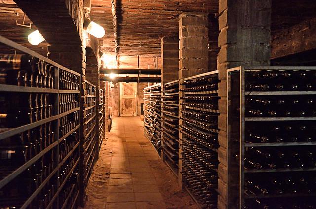 Beer cellar Hertog Jan Arcen