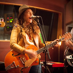 Thu, 12/03/2015 - 8:17pm - Brandi Carlile, Phil and Tim Hanseroth and the band, Electric Lady Studios session, NYC. Hosted by Rita Houston. Photo by Gus Philippas.