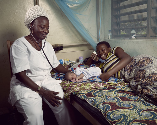 Antoinette, a nurse at a health center in Athiémé | by World Bank Photo Collection