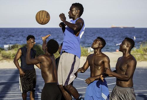sports basketball florida beach ocean