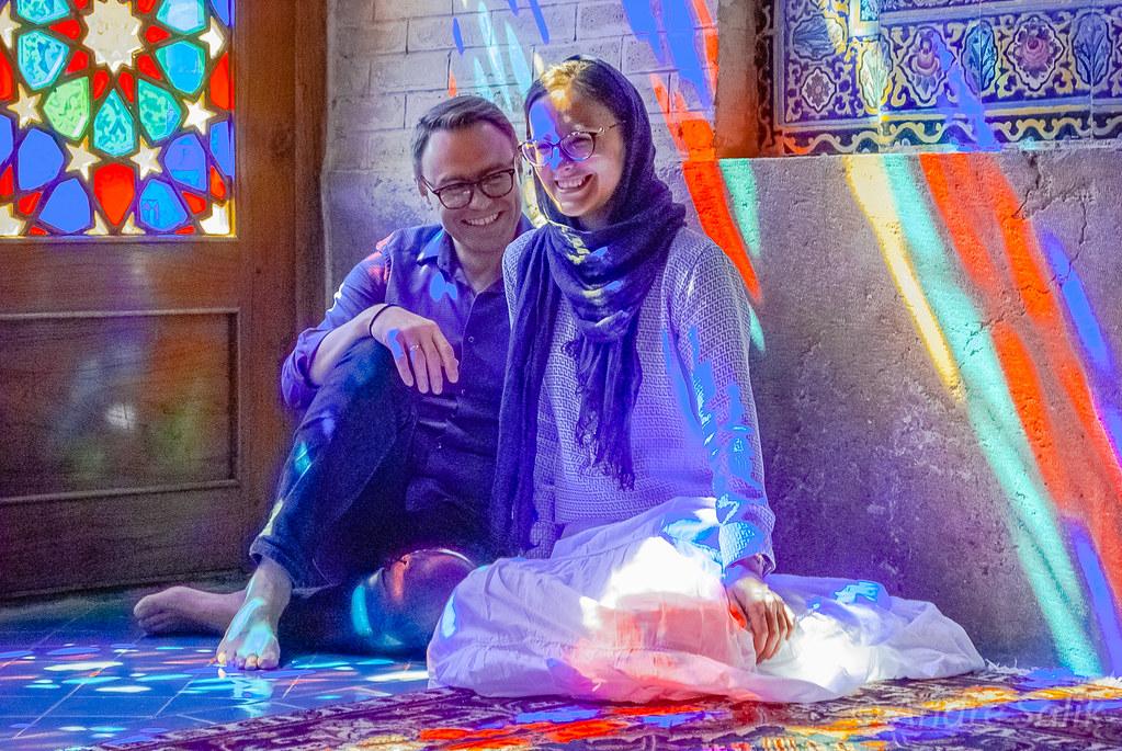 Igor Moisejenko и Наталия Моисеенко в Шираз.